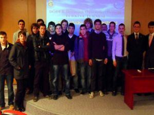 DÖDER, Galatasaray Üniversitesi'ndeydi