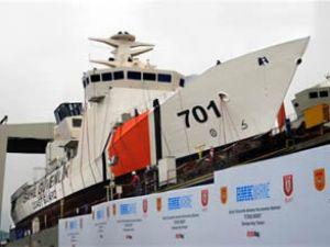 TCSG Güven, törenle denize indirilecek