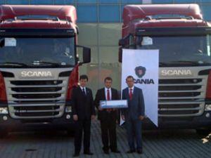 "Karbon Aray A.Ş'nin tercihi ""Scania"" oldu"