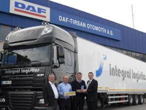 DAF-TIRSAN, İntegral Lojistik'e güç kattı