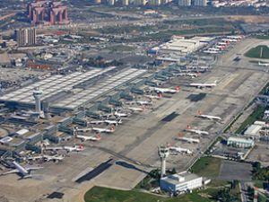 Atatürk Havalimanı'na saatte 60 uçak inecek