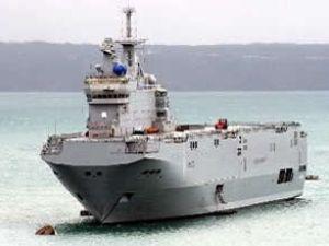 Rusya, Fransa'dan iki savaş gemisi alacak