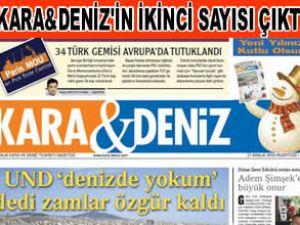 """""""Kara&Deniz""""in ikinci sayısı çıktı"""