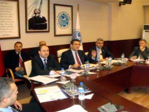 Sektör temsilcileri Müsteşarlıkta toplandı