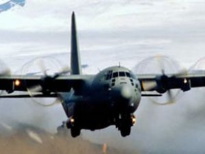 ABD askeri uçağı Almatı'ya acil iniş yaptı