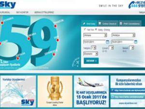 Sky Air, internetten bilet satışına başladı