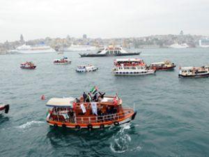 Asya 1 yardım konvoyu Suriye'den ayrıldı