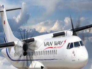 Vanlı şirket ilk uçuşunu gerçekleştirdi
