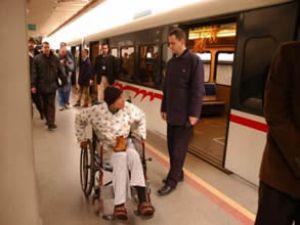 Engelliye tren yolculuğu ücretsiz oluyor