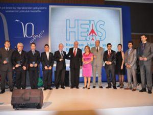 HEAŞ, 10'uncu yılını çalışanlarıyla kutladı