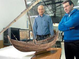 Antik savaş gemileri Yenikapı'dan çıktı