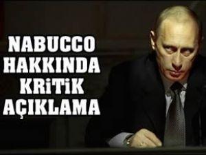 Putin: Nabucco'nun başarı şansı az