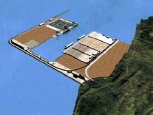 Modern derin su limanının inşaatı başladı