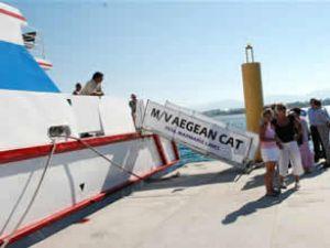 2010 yılında Didim'e 10 gemi giriş yaptı