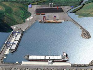 Zonguldak'a 7,5 milyon kapasiteli liman