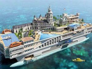 700 milyon sterlinlik hiper yat Monaco