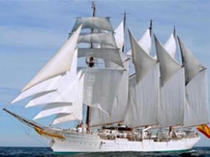 İspanyol yelkenli gemisi Karaköy'e geliyor