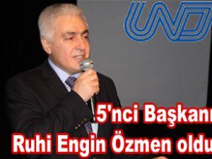 UND'nin Başkanı Ruhi Engin Özmen oldu