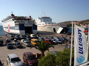 Çeşme Ulusoy Limanı'ndan dış ticaret arttı