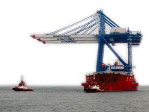Kumport Limanı, 3 adet yeni STS vinç aldı