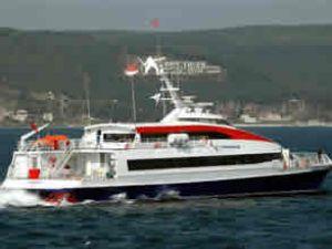 Conkbayırı deniz otobüsü bakıma alındı