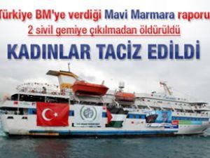 Türkiye'den BM'ye Mavi Marmara raporu