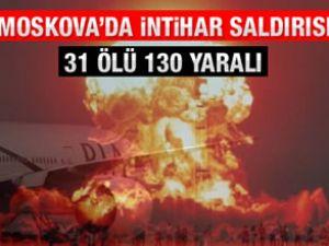 Moskova Havalimanı'nda patlama!