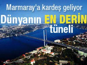 Marmaray projesine kardeş geliyor