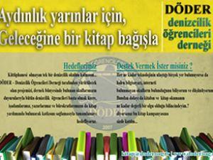 """DÖDER'den """"KİTAP DENİZİ"""" kampanyası"""