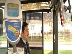 Kredi kartı artık otobüste de geçerli
