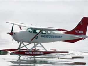Deniz uçağıyla sürekli denetim yapılıyor