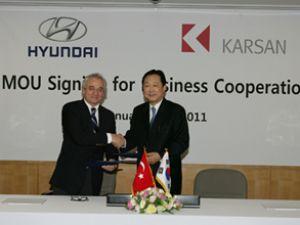 Karsan ile Hyundai güçlerini birleştirdi
