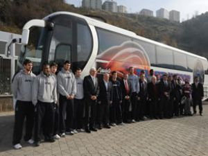 "Dev adamlara ""MAN Fortuna"" otobüs"