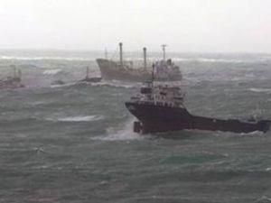 37 şilep ve tanker Şarköy'e demir attı