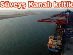 Süveyş Kanalı'ndaki gemi geçişleri tehlikede