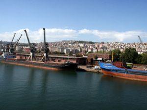 Samsun Limanı'ndaki çalışmalar sürüyor