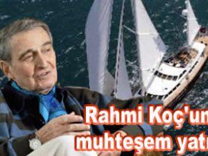 """Rahmi Koç'un son teknesi """"Nazenin V"""""""