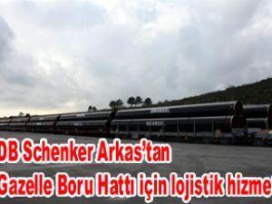 Arkas'tan boru hattı için lojistik hizmet