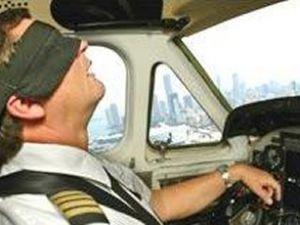 Uçağın kaptan pilotu uyuyakalmış