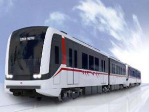 İzmir Metrosu'na yeni vagonlar geliyor