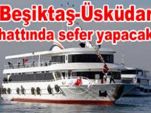 """""""Gönül"""" isimli tekne dün denize indirildi"""