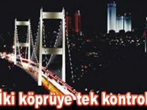 Fatih Sultan Mehmet Köprüsü ışıklandırıldı