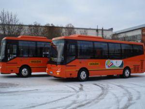 Letonya'nın otobüsleri BMC'den