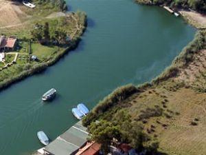 Dalyan Kanalı'na yüzer köprü yapılıyor