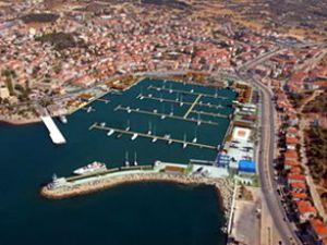 IC Çeşme Marina'yı bin tekne ziyaret etti