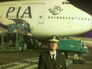 PIA pilotları Ravalpindi'de eylem yaptı