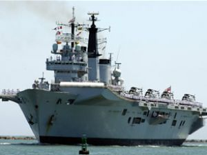 HMS Invincible gemisi 8 ayda jilet olacak