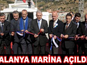 Yıldırım, Alanya Marina'nın açılışını yaptı