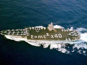 USS Enterprise gemisi Marmaris'ten ayrıldı