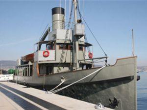 Nusret Mayın gemisi Türk karasularında